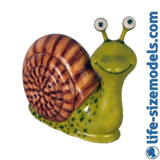 Mr Snail Cartoon Model 3D Realistic Prop