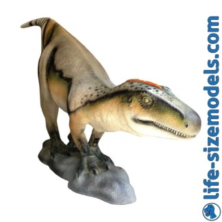Theropod Statue 3D Realistic Life size Dinosaur Statue
