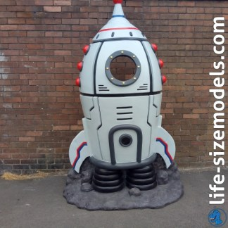 Rocket Photo Pod 3D Realistic Lifesize Model
