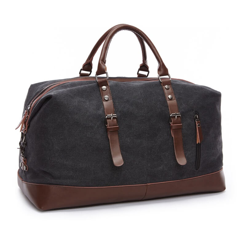 ... out for 2bbaa 4accd Large Canvas Travel Bag Tote Luggage Mens Weekender  Duffle Bag  wholesale outlet 2827d 2135b BLUBOON Canvas Travel Bag Unisex  44L ... 5a2574e4ed