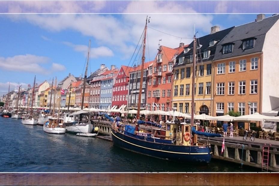 malerischer Hafen von Kopenhagen
