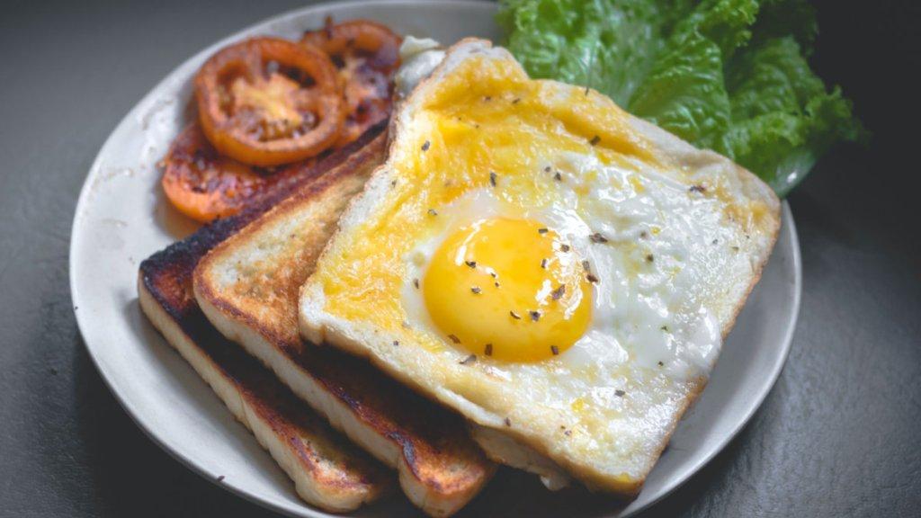 避免肌肉流失-蛋白質攝取量-早餐