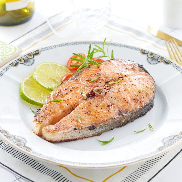挪威鮭魚輪切-鮭魚料理