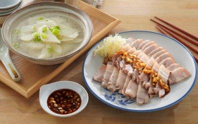 蒜泥白肉 最能展現豬五花肉本質的台式料理