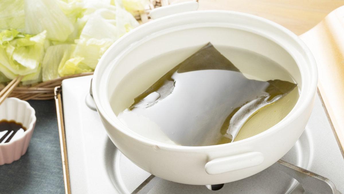 昆布-海草-日式高湯-出汁