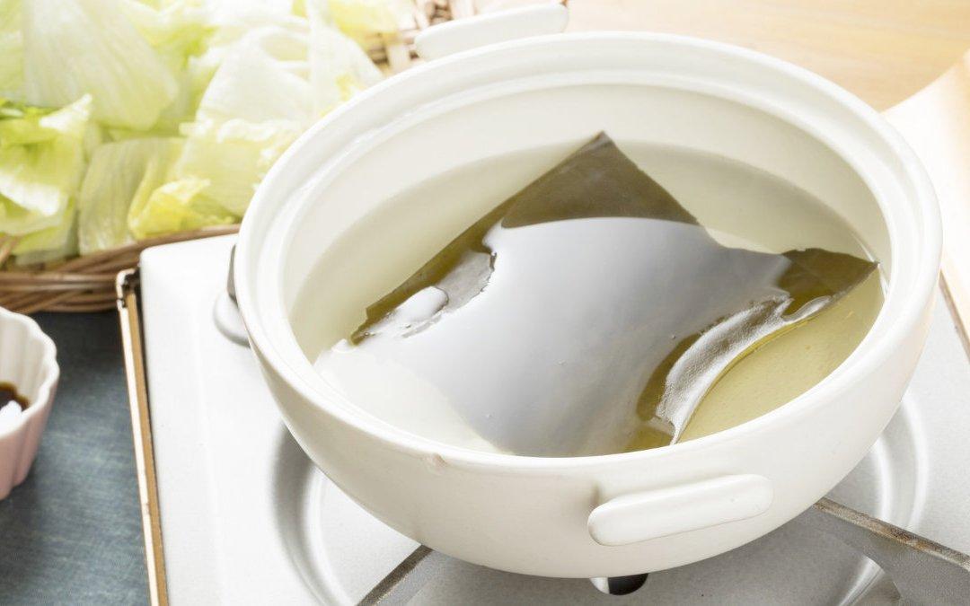 昆布是日式高湯的基本 教你怎麼熬高湯?