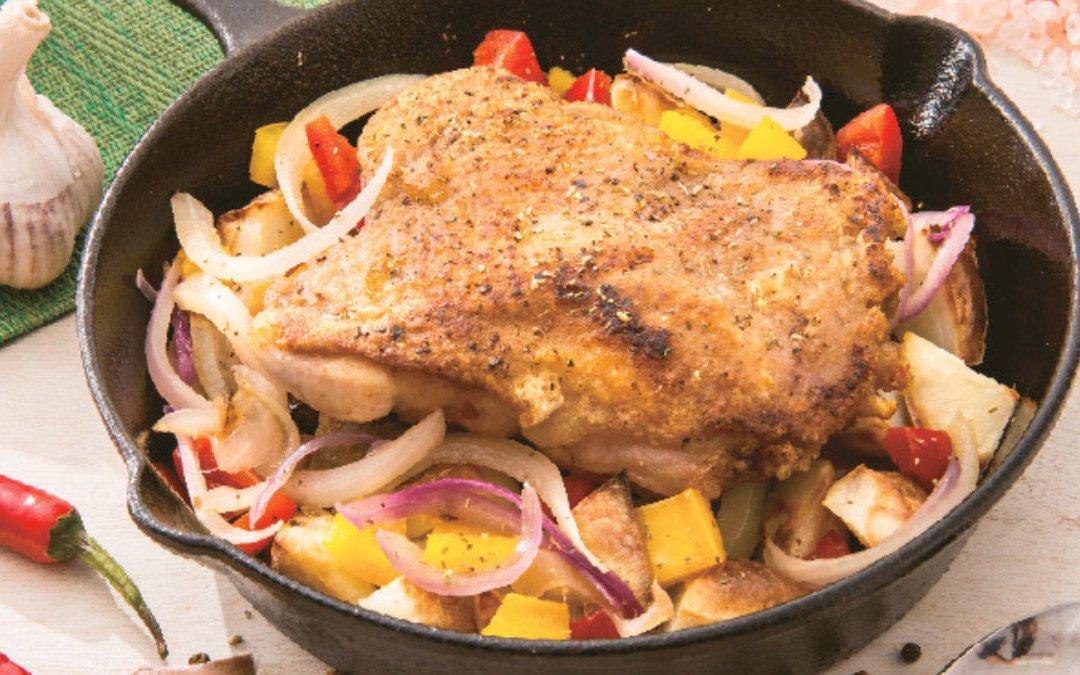 普羅旺斯烤雞