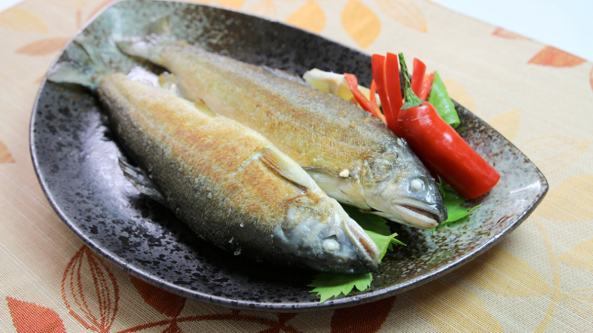 香魚食譜-乾煎香魚