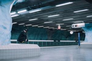 #LÄBIKLAASI + Stockholm Underground