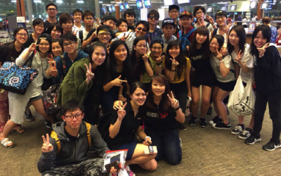 Inbound Trip: Ariake National College of Technology Visit to School of CLS & Local Food Culture Exchange, 13 May 2016