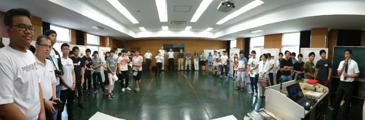 Outbound Trip: Exchange Programme with Sasebo NIT, 20 to 26 June 2016