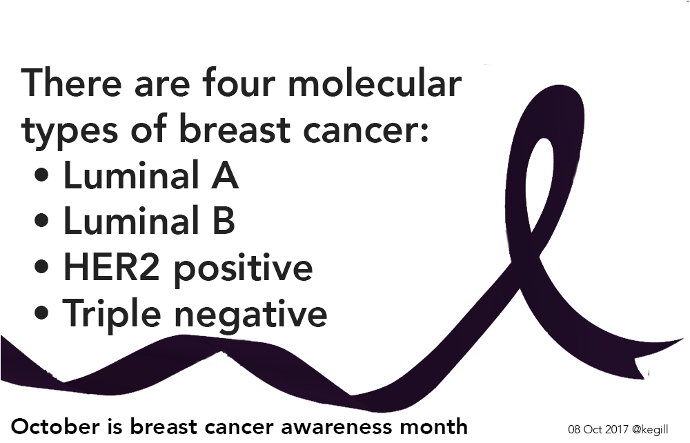 molecular types of breast cancer