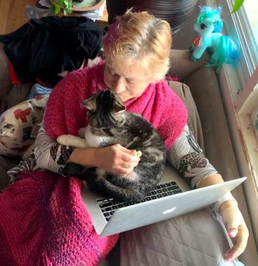 Tawna as nurse kitty