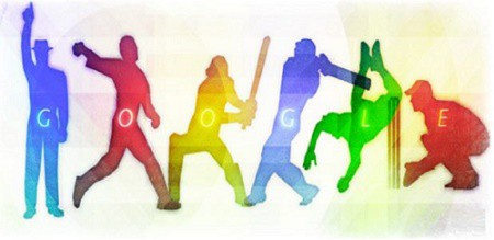 Google Doodle Cricket Icc World Cup