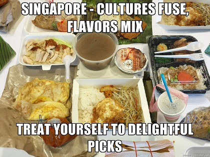 Singapore - a food haven