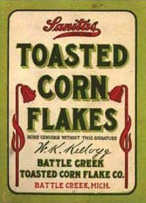 Corn Flakes Package 1906
