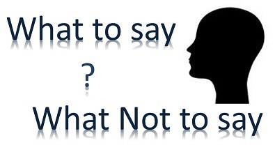 What_to_say