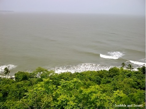 Sea view from Fort Aguada, Goa