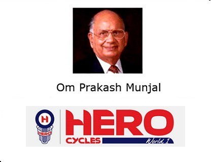 O.P.-Munjal Hero Cycles