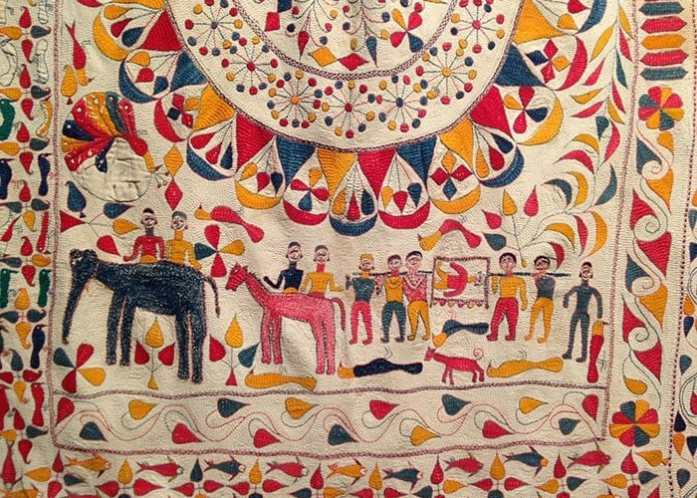 Kantha Work Traditional Craft From Bengal In Contemporary Designs