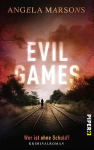 Evil games, Angela Marsons, Cover