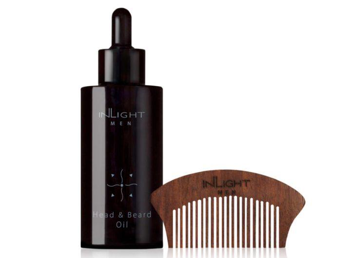 04 Inlight bio vyzivujici olej na vlasy vousy a strniste 100 ml cena 1 295 Kc www.biorganica.cz scaled e1606750109659