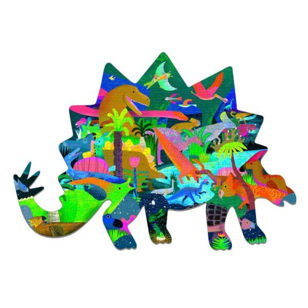 Kidtown Tvarovane puzzle Dinosauri 539 Kc e1615220894448