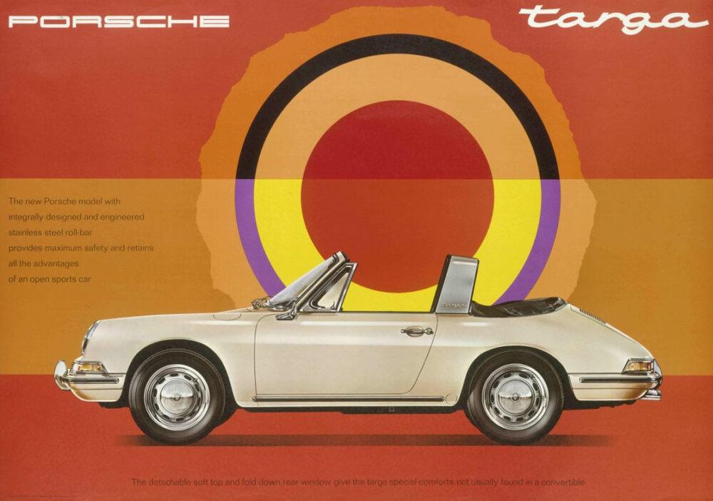 Reklama na Porsche 911 Targa 1967 e1615832221416