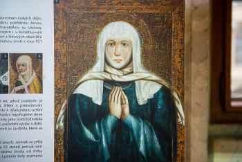 Výstava Kněžna sv. Ludmila