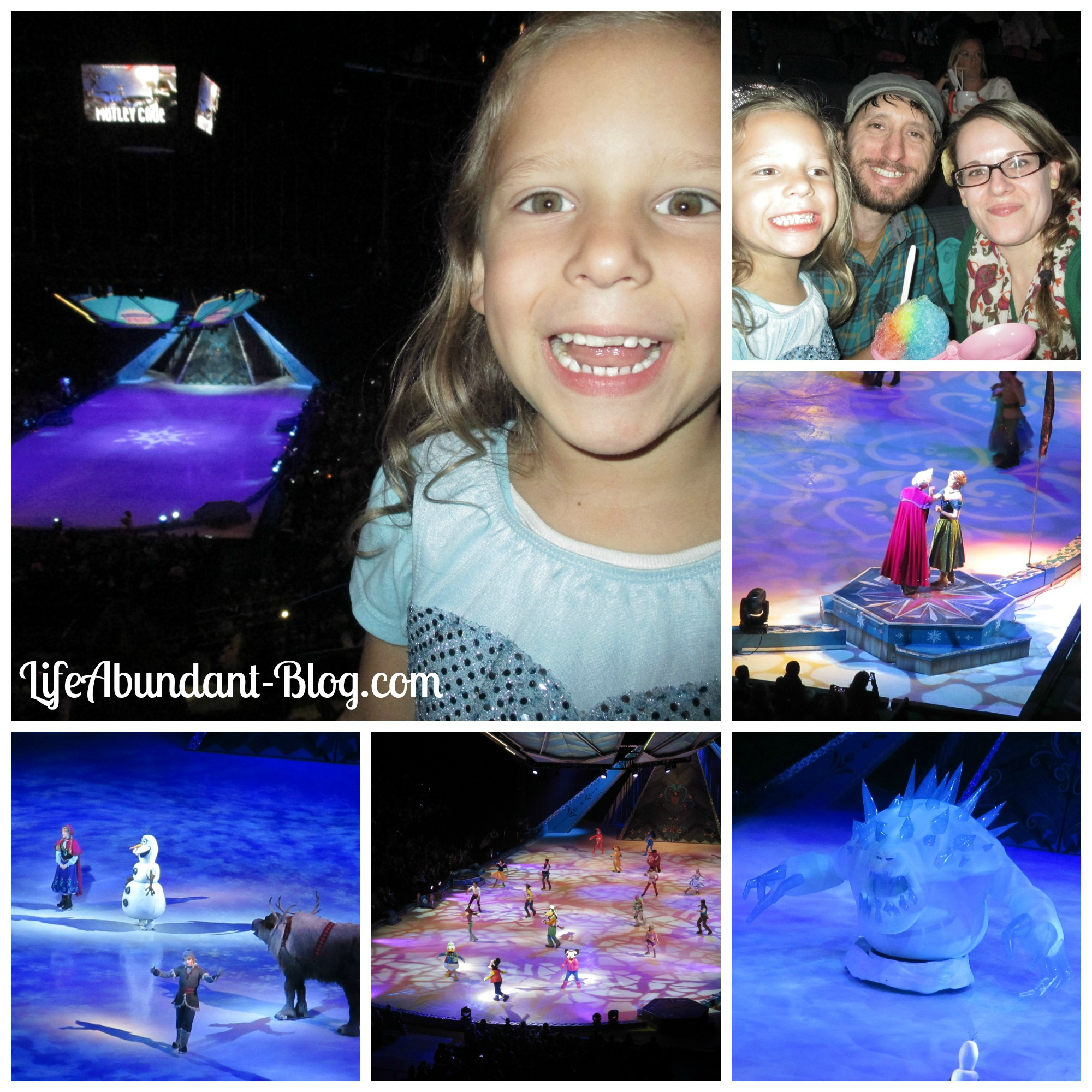Disney On Ice Collage