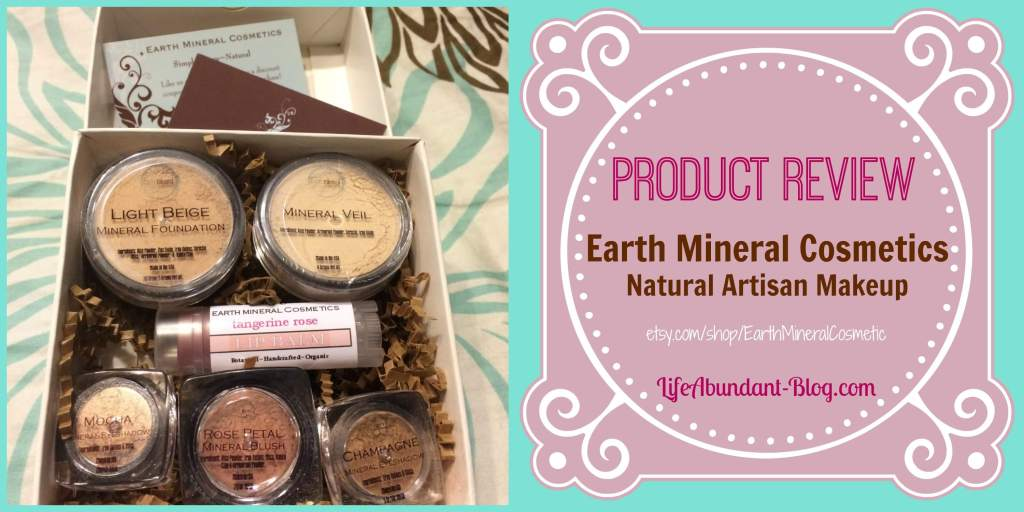 Earth Mineral Cosmetics Product Review