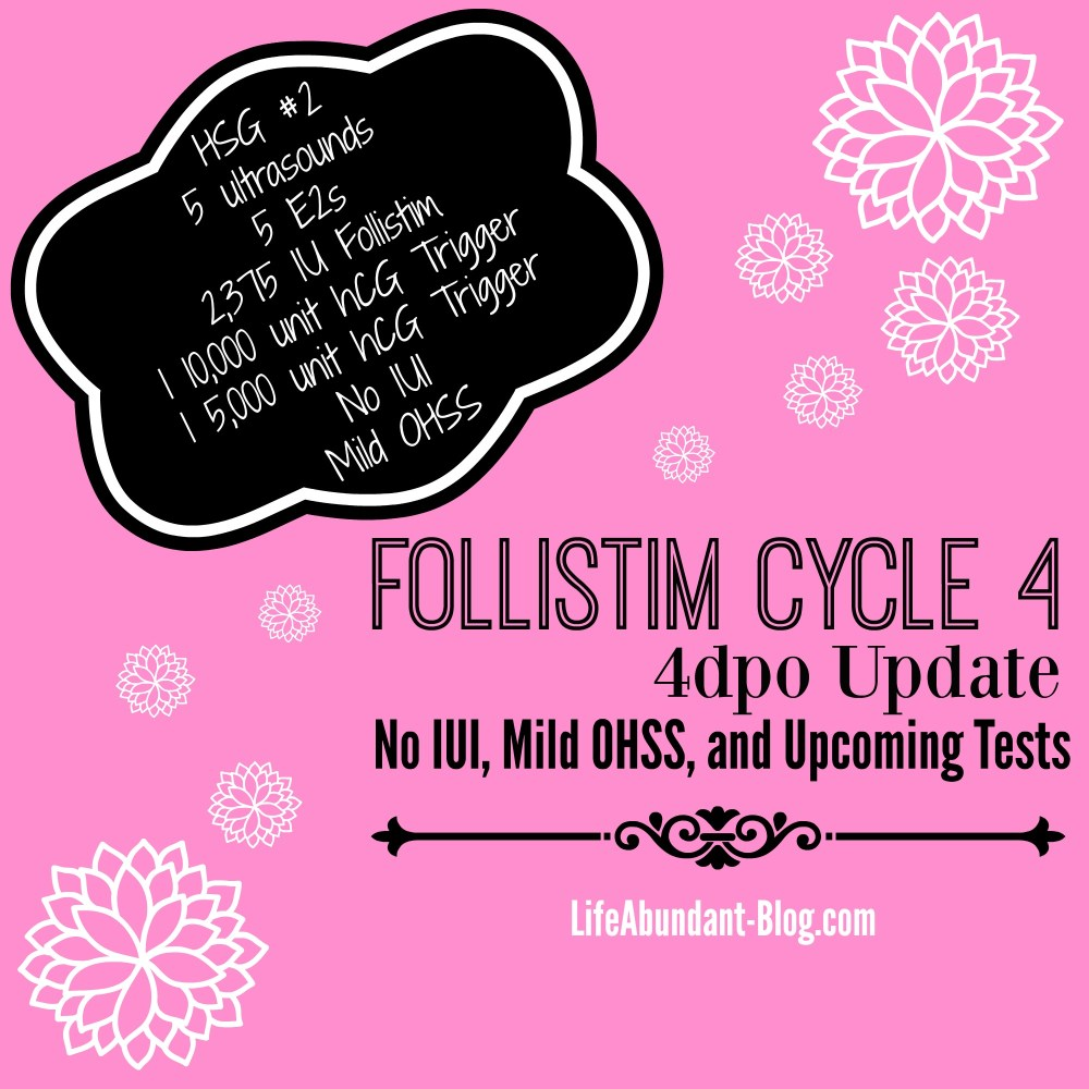 Follistim 4 update