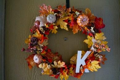 Garter Bow Wreath