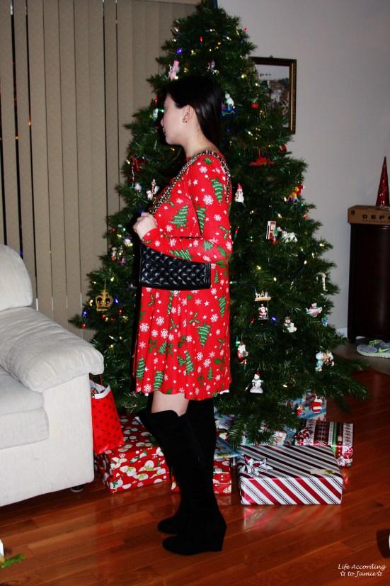 Christmas Swing Dress 4