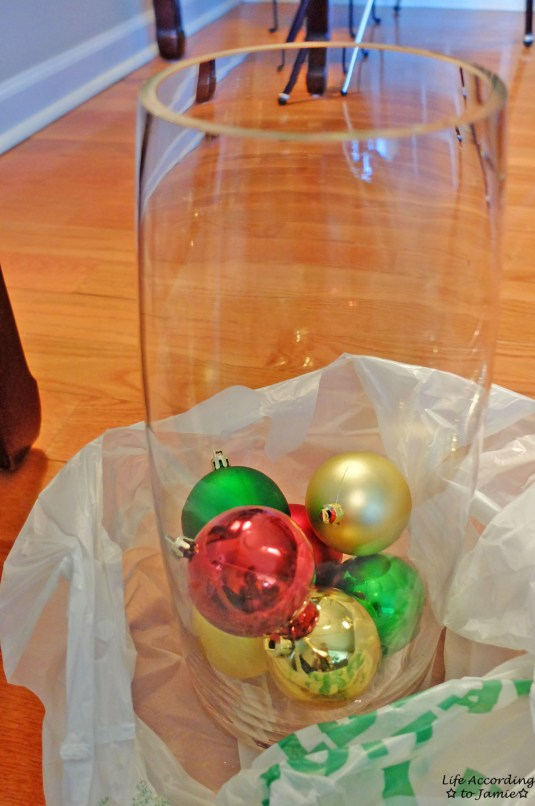 Ornaments in Vase 1