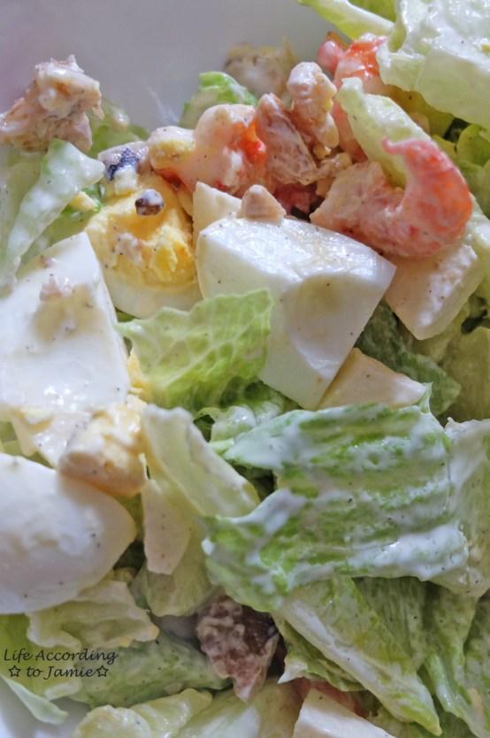 Pan-Fried Shrimp Salad 2