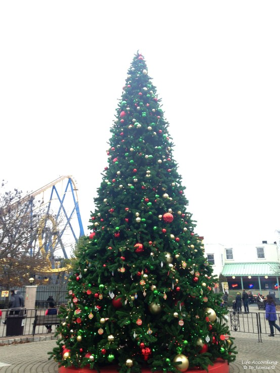 Six Flags - Christmas Tree