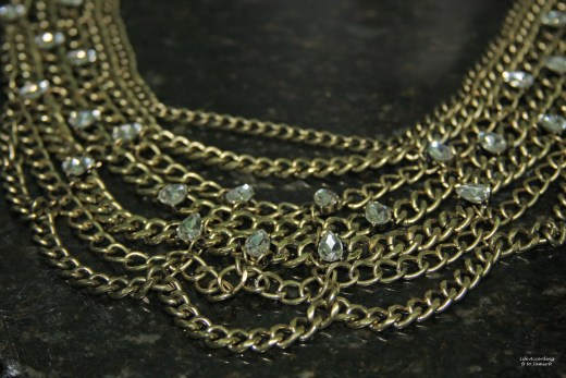 Twinkle Chain Bib 5
