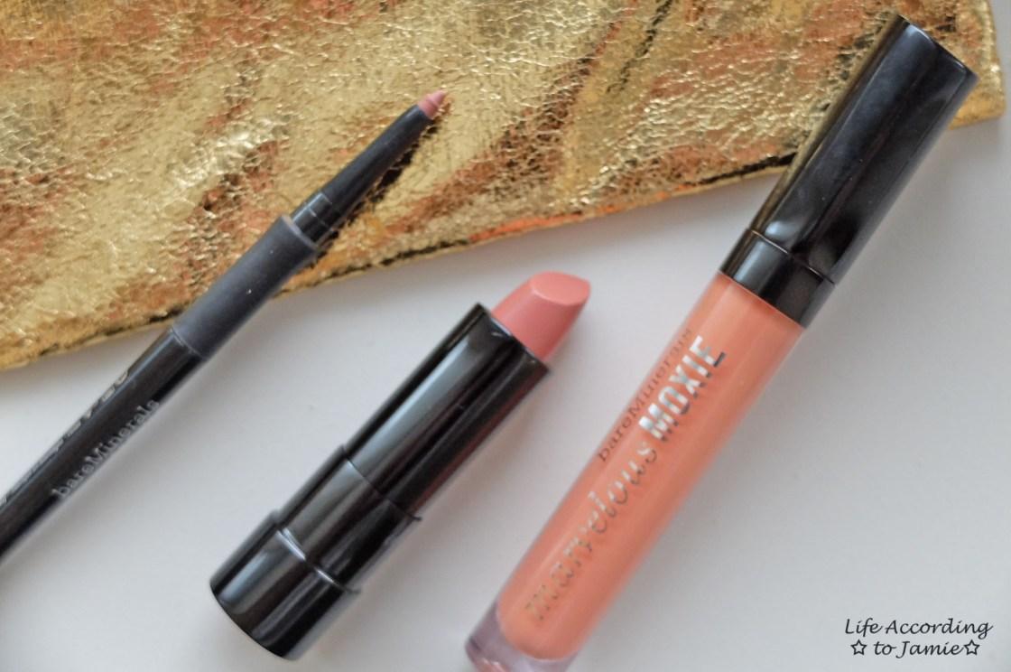 BareMinerals Nude Lip Trio