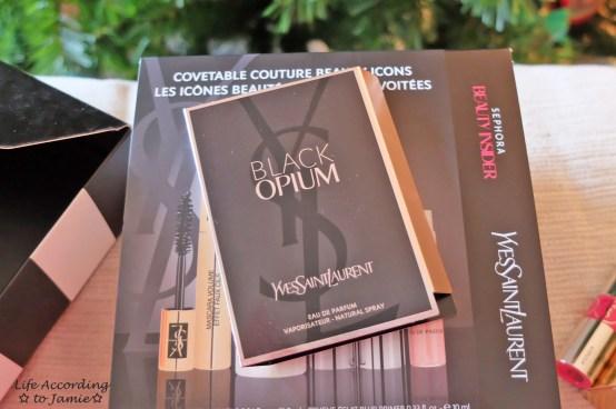 YSL Black Opium Sample