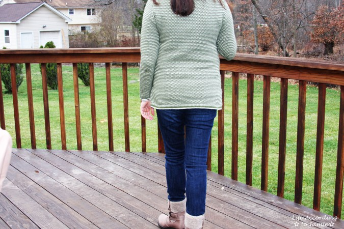 Olive Green Knit 1