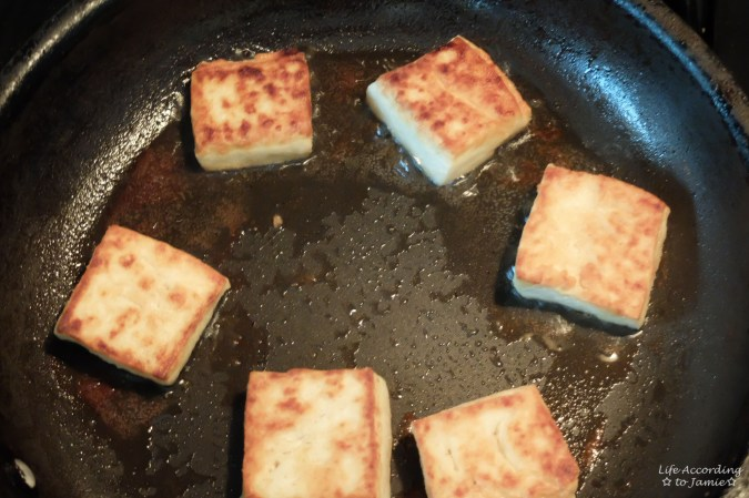 Pan-fried Tofu 1