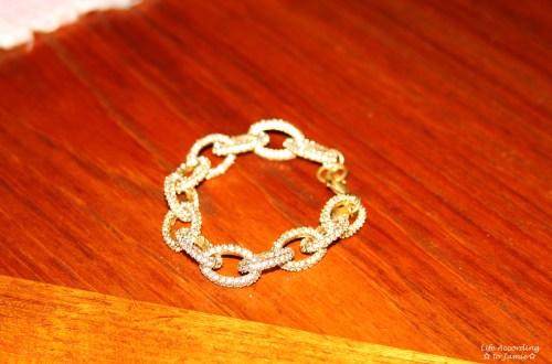 Pavé Link Bracelet