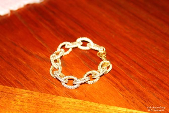 Pavé Link Bracelet 6