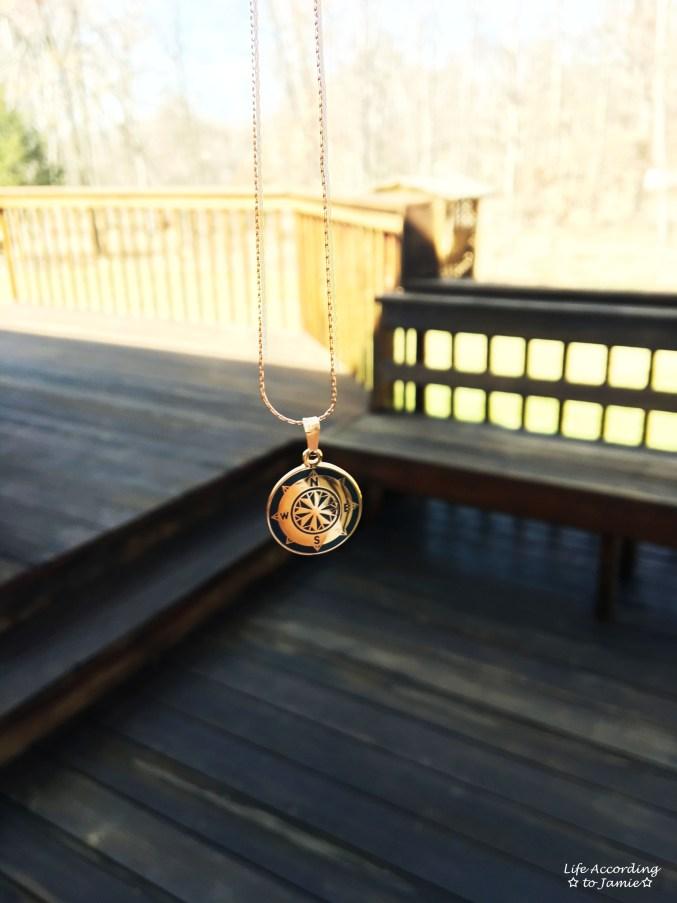 Alex & Ani Compass Necklace 1
