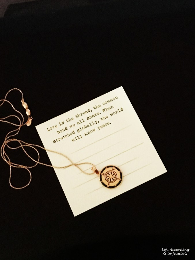 Alex & Ani Compass Necklace