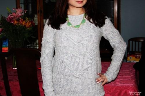 Heart Knit Sweater