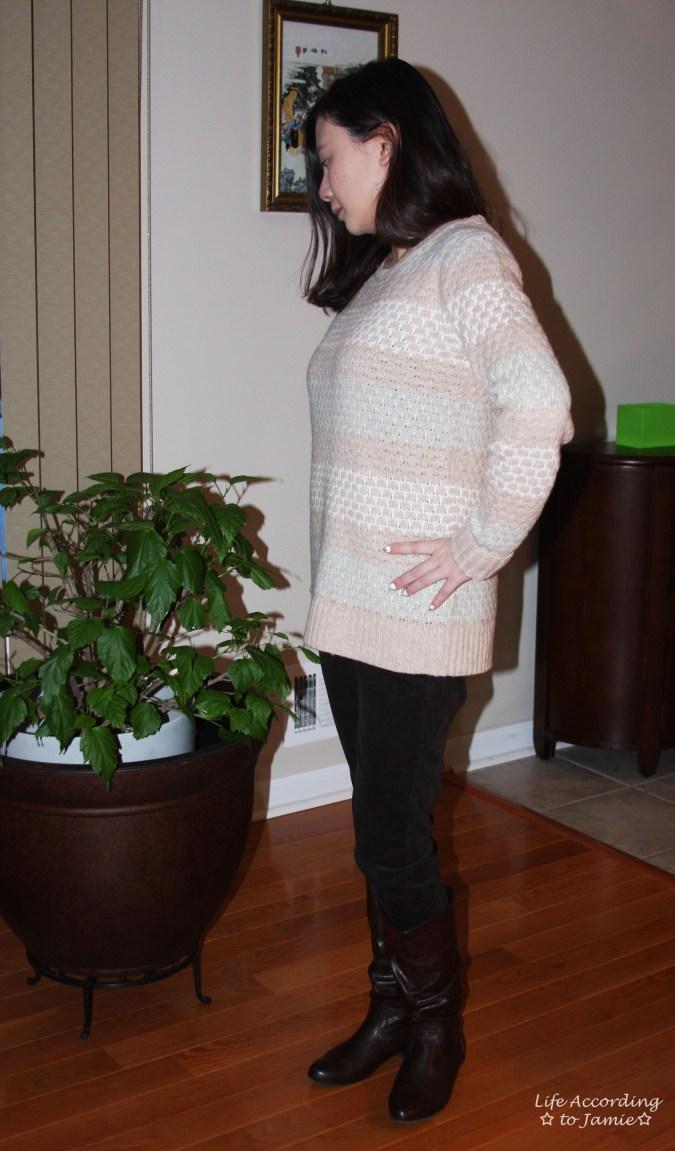 Honeycomb Sweater 1