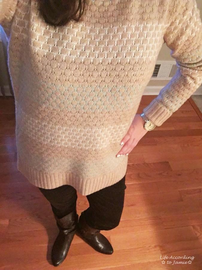 Honeycomb Sweater 2