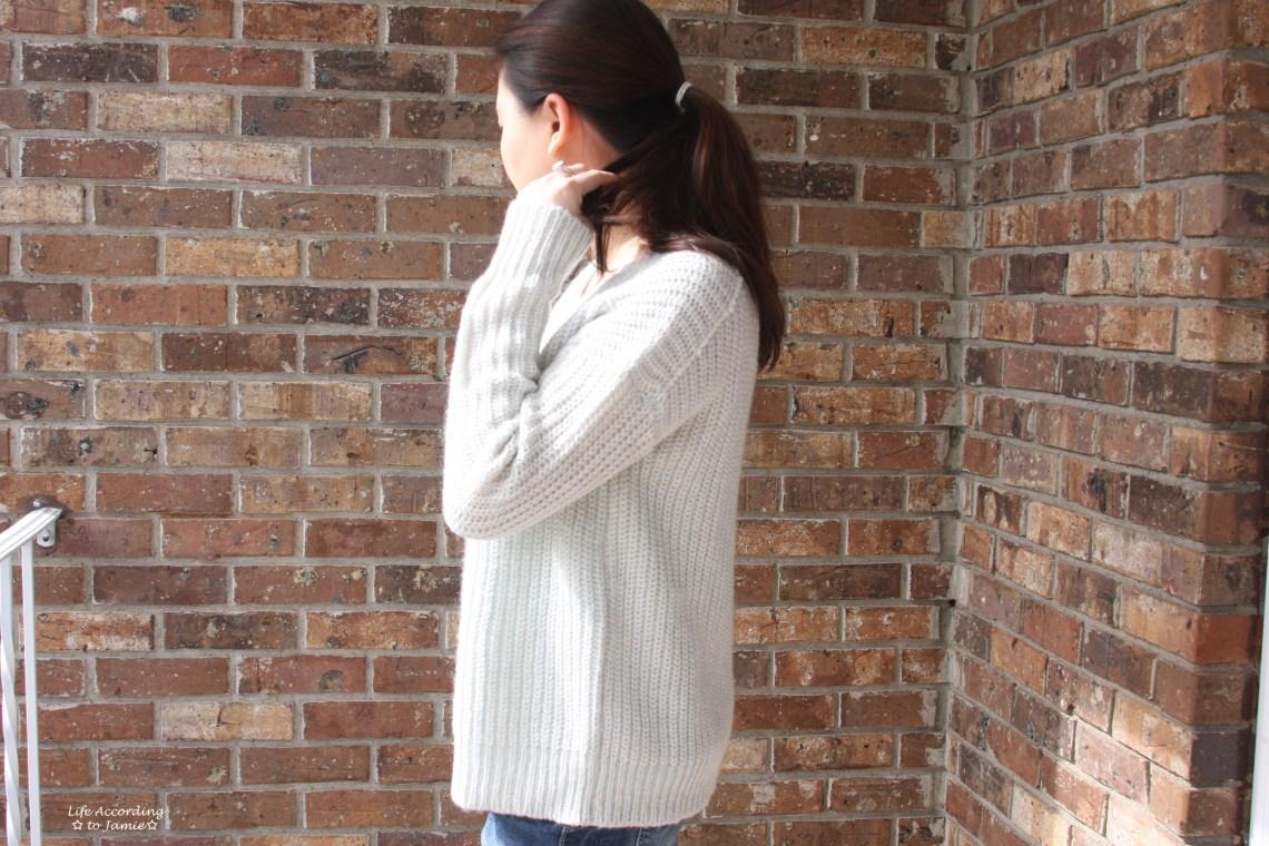 Open-Back Shaker Knit